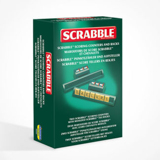 Scrabble Scoring Racks and Markers