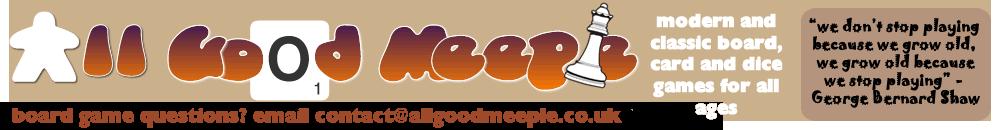 All Good Meeple – board game retailer