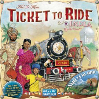 Ticket to Ride India Switzerland